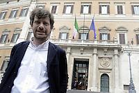 Roma, 30 Aprile 2015<br /> Pippo Civati entra in Parlamento.<br /> Votata le seconda fiducia alla Legge elettorale