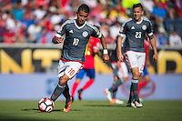Orlando, Florida - Saturday, June 04, 2016: Paraguayan midfielder Derlis Gonzalez (10) during a Group A Copa America Centenario match between Costa Rica and Paraguay at Camping World Stadium.