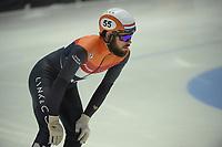SPEEDSKATING: DORDRECHT: 05-03-2021, ISU World Short Track Speedskating Championships, QF 1500m Men, Sjinkie Knegt (NED), ©photo Martin de Jong