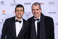 NEW YORK, NY 21.11.2016 - EMMY-2016 -  Marcius Melhem durante tapete vermelho do Emmy Internacional 2016 prêmio dos melhores atores e novelas da TV, em Nova York, nos Estados Unidos na noite desta segunda-feira, 21. (Foto: Vanessa Carvalho/Brazil Photo Press)
