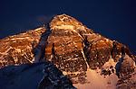 Mount Everest, Tibet