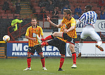 Tope Obadeyi scores a header to put Kilmarnock 2-0 up
