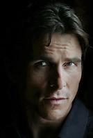 CHRISTIAN BALE's current film is RESCUE DAWN.  He plays a Vietnam era pilot.  Regency Hotel, Park Av., NYC.  Newsday/ARI MINTZ  6/26/2007.
