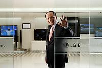 Nam Yong CEO of LG Electronics<br /> <br /> Photo portfolio of Kim  / Sinopix
