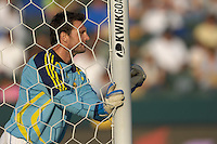 Joe Cannon lines up his wall. The Los Angeles Galaxy defeated Real Salt Lake, 3-2, at the Home Depot Center in Carson, CA on Sunday, June 17, 2007.