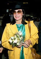 Montreal (Qc) CANADA - Undated File Photo - <br /> <br /> Nana Mouskouri.<br /> <br /> Nana Mouskouri (in Greek, Nάνα Μούσχουρη), born as Ioanna Mouskhouri on October 13, 1934, in Chania, Crete, Greece, is a singer of Greek origin. She was known as Nana to her friends and family as a child. (Note that in Greek her surname is pronounced with the stress on the first syllable rather than the second.) She has recorded in many different languages, including Greek, French, English, German, Italian, Spanish, among others.<br /> <br /> -Photo (c)  Images Distribution