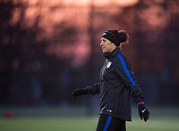Vancouver, Canada - November 5, 2017: The USWNT trains in preparation for their friendly against Canada in Vancouver.