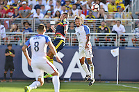 Santa Clara, CA - Friday June 03, 2016: United States midfielder Jermaine Jones (13) during a Copa America Centenario Group A match between United States (USA) and Colombia (COL) at Levi's Stadium.
