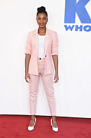 """Rhianna Dorris<br /> arriving for the premiere of """"The Kiid who would be King"""" at the Odeon Luxe cinema, Leicester Square, London<br /> <br /> ©Ash Knotek  D3476  03/02/2019"""
