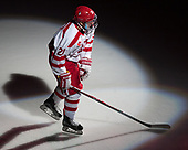 Patrick Harper (BU - 21) - The visiting Merrimack College Warriors defeated the Boston University Terriers 4-1 to complete a regular season sweep on Friday, January 27, 2017, at Agganis Arena in Boston, Massachusetts.The visiting Merrimack College Warriors defeated the Boston University Terriers 4-1 to complete a regular season sweep on Friday, January 27, 2017, at Agganis Arena in Boston, Massachusetts.