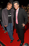 """As part of the Cinema Arts Festival Houston, director Richard Linklater, at left, and festival curator Richard Herskowitz on the red carpet outside Museum of Fine Arts Houston before a screening of Linklater's """"Me and Orson Welles""""  Wednesday Nov. 11,2009. (Dave Rossman/For the Chronicle)"""
