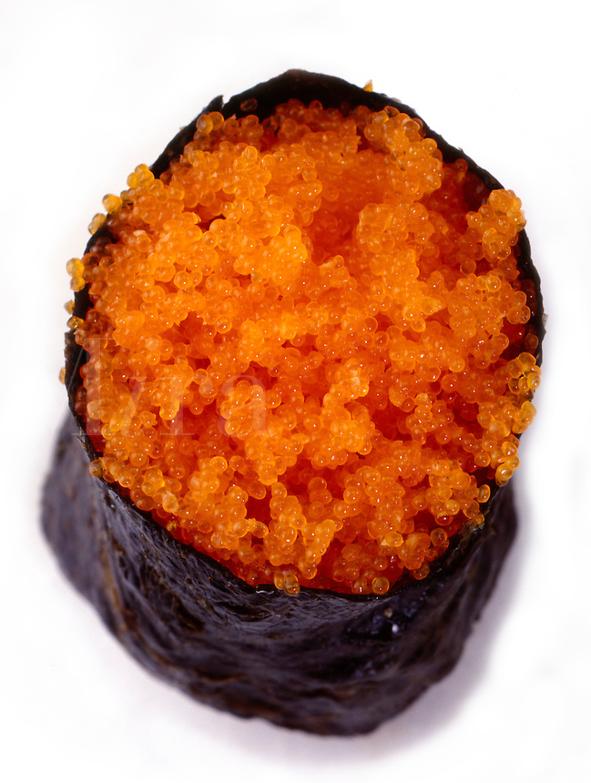 Sushi Tobiko; flying fish caviar