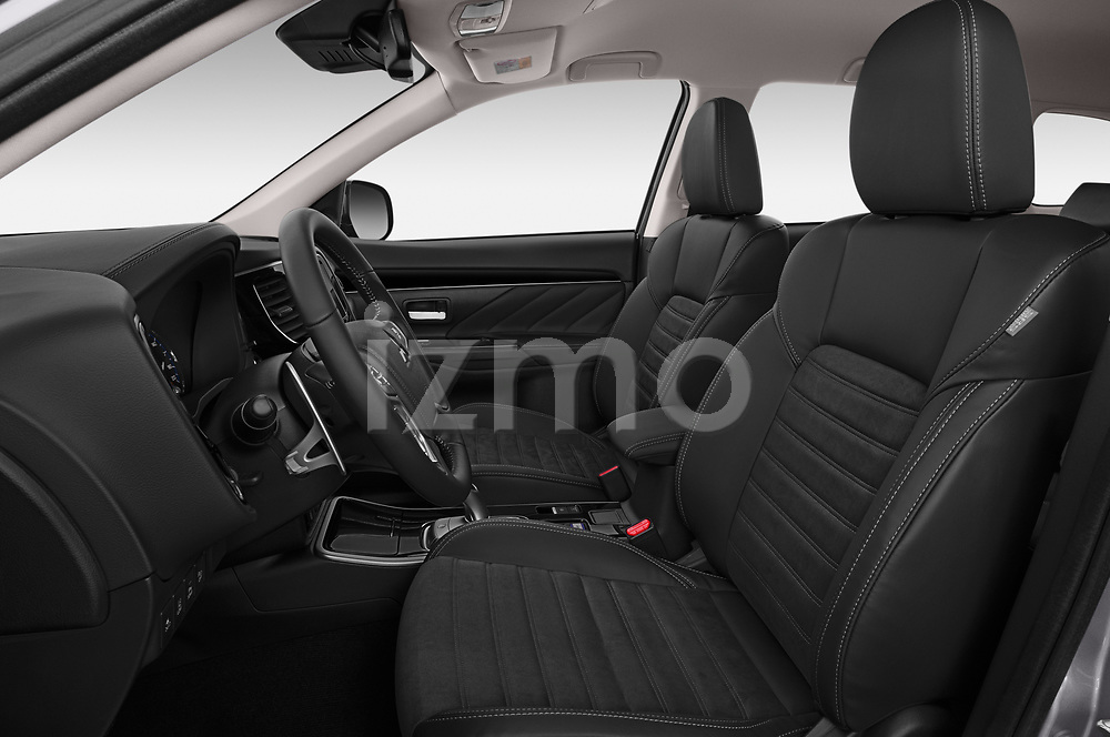 Front seat view of 2019 Mitsubishi Outlander-PHEV Intense-4wd 5 Door SUV Front Seat  car photos