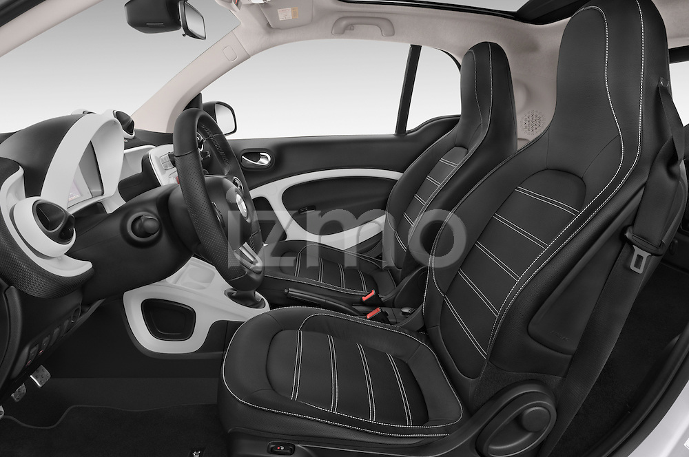 Front seat view of a 2015 Smart FORTWO PRIME 3 Door Micro Car Front Seat car photos