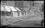 Frederick Stone negative. Bank Street. Undated photo