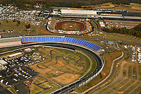Aerial view of the Lowe's Motor Speedway in Concord, NC.
