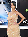 """Zoe Saldana at Paramount Pictures' Premiere of  """"Star Trek Into Darkness"""" held at The Dolby Theater in Hollywood, California on May 14,2013                                                                   Copyright 2013 Hollywood Press Agency"""