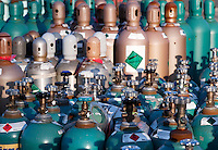 Compressed industrial gas products.