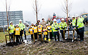 ::  HELIX PROJECT ::  THE FIRST TREES ARE PLANTED AT  THE START OF THE £43 MILLION LAND TRANSFORMATION PROJECT ::.