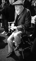 JohnHuston filming #Annie 1981<br /> Photo By Adam Scull/PHOTOlink.net