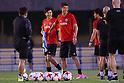 Soccer : Japan National team training