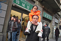 - chinese stores in Paolo Sarpi street area, the Milan Chinatown<br />