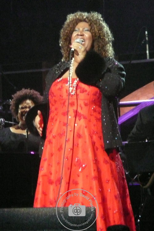 ROCK & ROLL HALL OF FAME CONCERT AT MADISON SQUARE GARDEN Aretha Franklin,