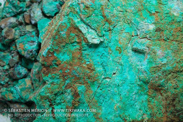 Saprolite ou Garniérite : minerai le plus répandu et le plus riche en Nouvelle-Calédonie