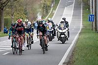 Brent Van Moer (BEL/Lotto Soudal)<br /> <br /> 61st Brabantse Pijl 2021 (1.Pro)<br /> 1 day race from Leuven to Overijse (BEL/202km)<br /> <br /> ©kramon