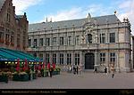 Bishop's Palace, Burg Square, Bruges, Brugge, Belgium
