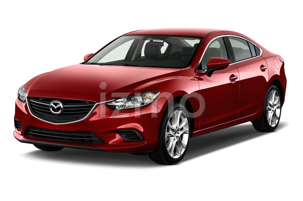 Front three quarter view of a 2014 Mazda Mazda6 i Touring Sedan