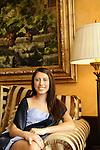 Fashion Bat Mitzvah Portraits.On the dock on Long Island Sound.The Delmar Hotel, Greenwich, Connecticut.