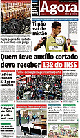 03.08.2018 - Falha deixa passageiros no aperto. (Foto: Fábio Vieira/FotoRua)