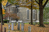 Old Dutch Church, Kingston, New York, USA