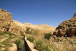 Ein Qelt in the Judean desert