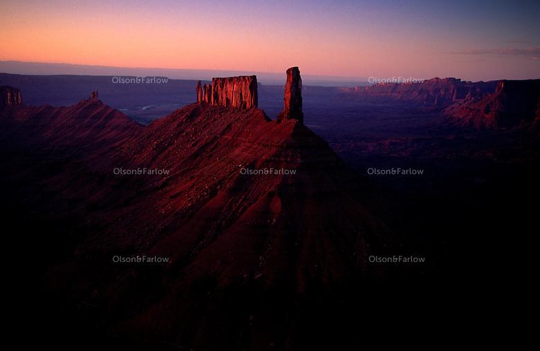 Castle Rock in Moab, Utah.