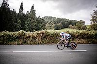 Yves Lampaert (BEL/Deceuninck - QuickStep)<br /> Elite Men Individual Time Trial<br /> from Northhallerton to Harrogate (54km)<br /> <br /> 2019 Road World Championships Yorkshire (GBR)<br /> <br /> ©kramon