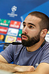 Real Madrid's Daniel Carvajal in press conference after training session. May 1,2017.(ALTERPHOTOS/Acero)