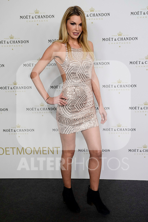 """Tanja La Croix attends to the Moet & Chandom party """"New Year's Eve"""" at Florida Retiro in Madrid, Spain. November 29, 2016. (ALTERPHOTOS/BorjaB.Hojas)"""