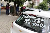 17/03/2021 - MOTORISTAS DE APLICATIVOS PROTESTAM EM CAMPINAS