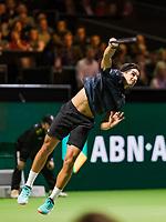 Rotterdam, The Netherlands, 12 Februari 2019, ABNAMRO World Tennis Tournament, Ahoy, first round singles: Pierre-Hugues Herbert (FRA),<br /> Photo: www.tennisimages.com/Henk Koster