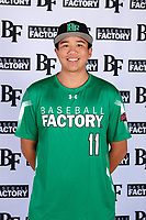 Jonathan Clark (11) of Mission Hills High School in San Marcos, California during the Baseball Factory All-America Pre-Season Tournament, powered by Under Armour, on January 12, 2018 at Sloan Park Complex in Mesa, Arizona.  (Mike Janes/Four Seam Images)