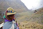 Abra Salkantay 15340 ft, 4650 m), high pass crossed on the third day of the trek, .Abra Salkantay 15340 ft, 4650 m), col franchi le troisième jour du trek