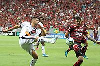 BRASÍLIA, DF, 17.08.2019: VASCO-FLAMENGO - Partida entre Vasco e Flamengo pelo Campeonato Brasileiro na tarde deste sábado (17) no estádio Mané Garrincha em Brasília. (Foto: Anderson Papel/Código19)