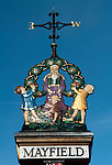 Mayfield East Sussex UK The village sign  2017 2010s