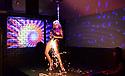 Xena Zeit-geist performs at a stripper pop-up at Poor Boys, 2018