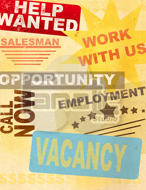 Posters of advertising Jobs