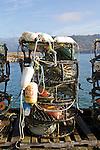 Garibaldi, crab pots, crabbing season, Oregon coast, Tillamook County, Oregon, Pacific Northwest, North America,