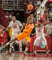NWA Democrat-Gazette/ANTHONY REYES • @NWATONYR<br /> Arkansas against Tennessee in the first half Tuesday, Jan. 27, 2015 at Bud Walton Arena in Fayetteville. The Razorbacks won 69-64.