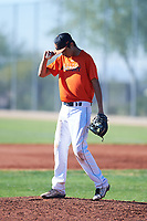Jacob Chavez (51), from Denver, Colorado, while playing for the Orioles during the Under Armour Baseball Factory Recruiting Classic at Red Mountain Baseball Complex on December 28, 2017 in Mesa, Arizona. (Zachary Lucy/Four Seam Images)